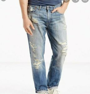 Levi's 541 Athletic Ripped Jeans